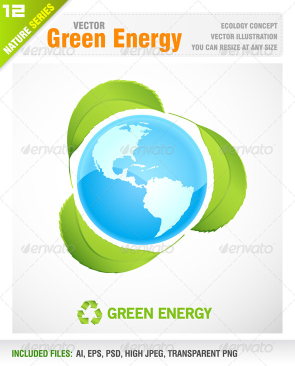 Green Energy - Nature Conceptual