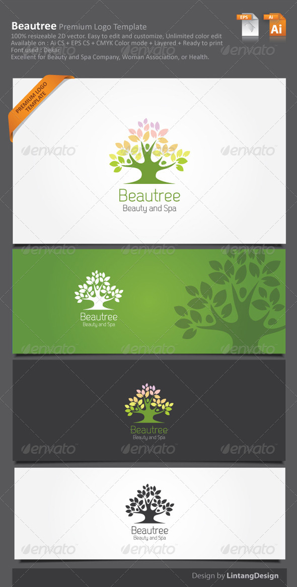 Tree Logo - Nature Logo Templates
