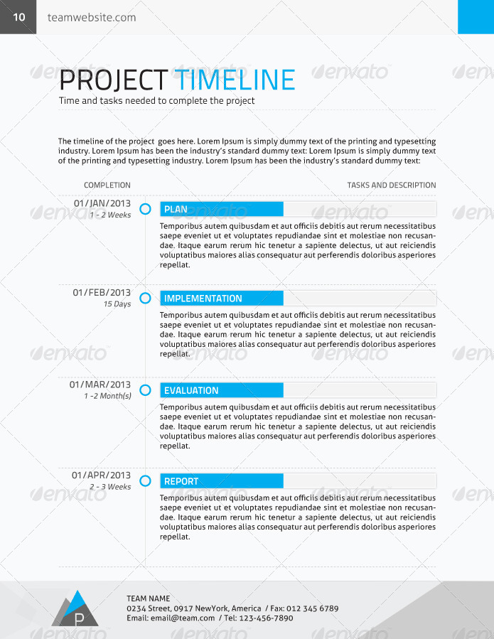 Corporate Proposal Contract Invoice By Yordstudio Graphicriver