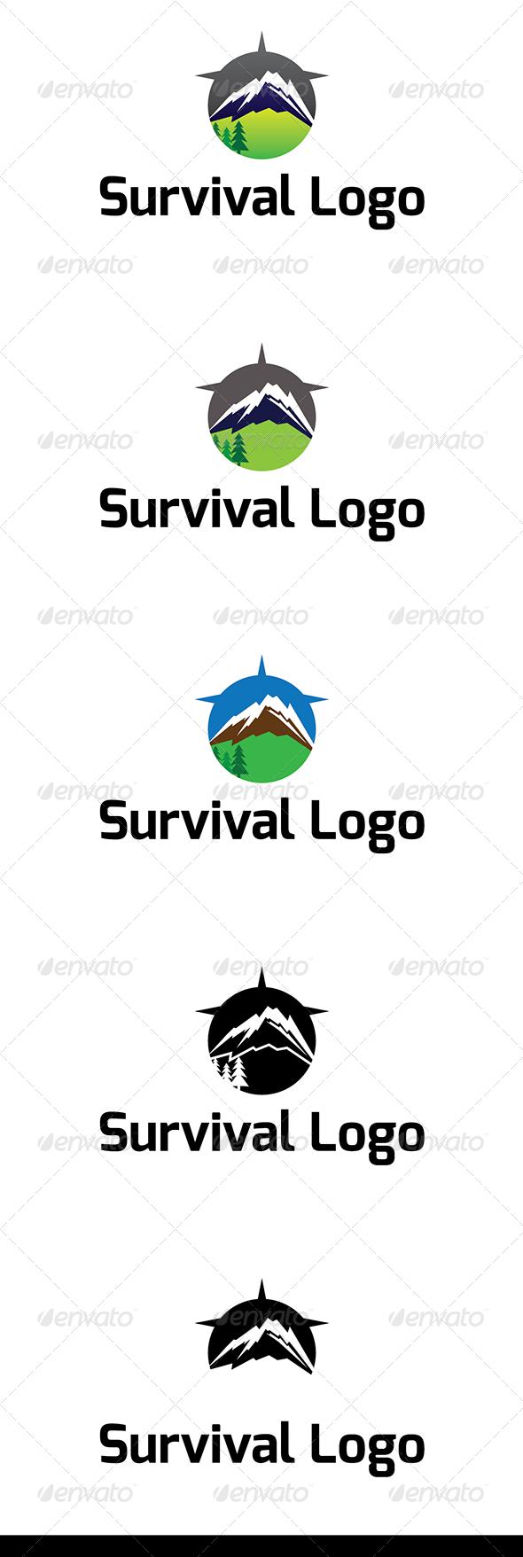 Survival Logo - Humans Logo Templates