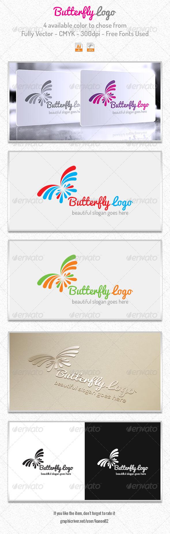 Butterfly Logo - Symbols Logo Templates
