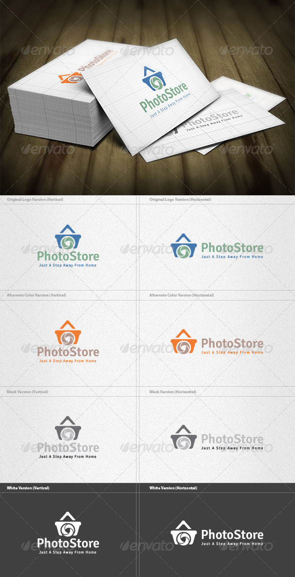 Photo Store Logo - Objects Logo Templates