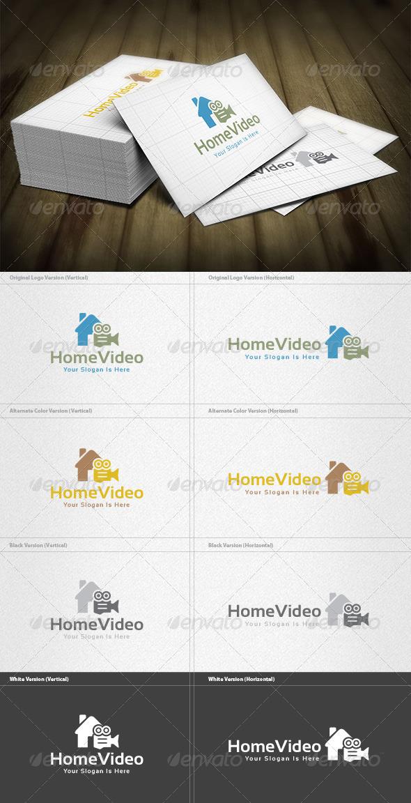 Home Video Logo - Symbols Logo Templates