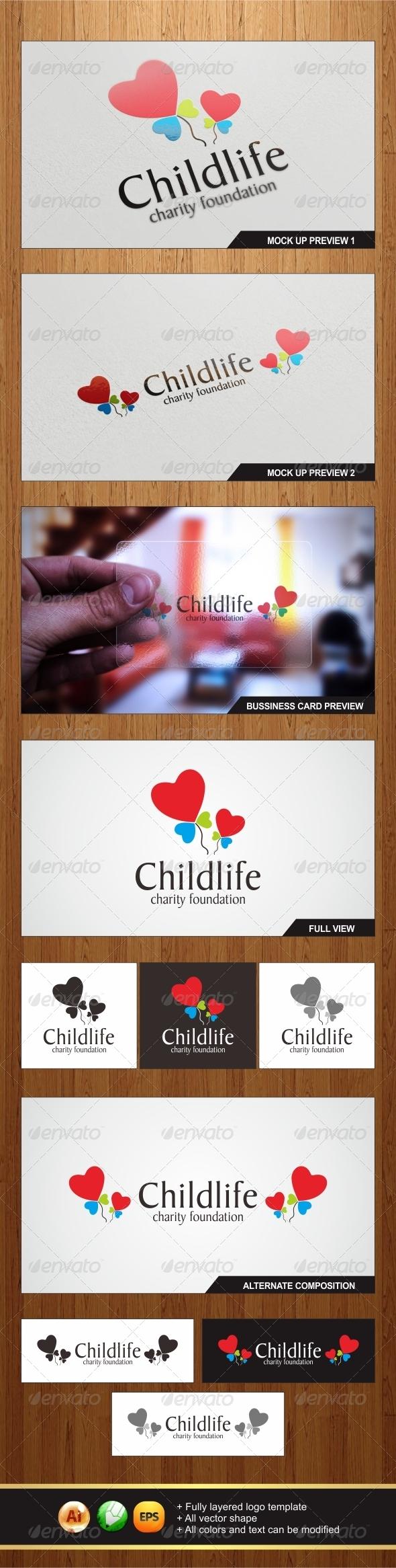 Childlife Logo - Symbols Logo Templates