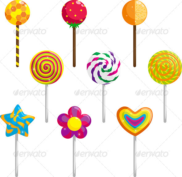 Lollipop - Food Objects