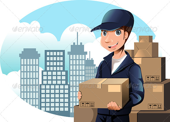 Delivery Man - Industries Business