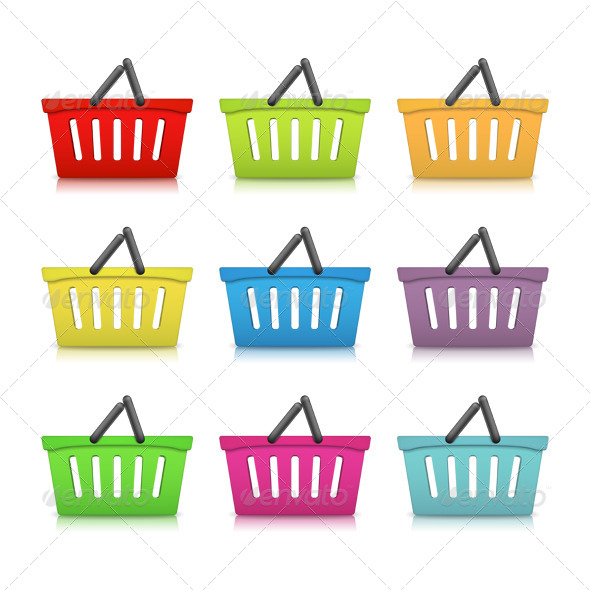 Shopping Baskets - Retail Commercial / Shopping