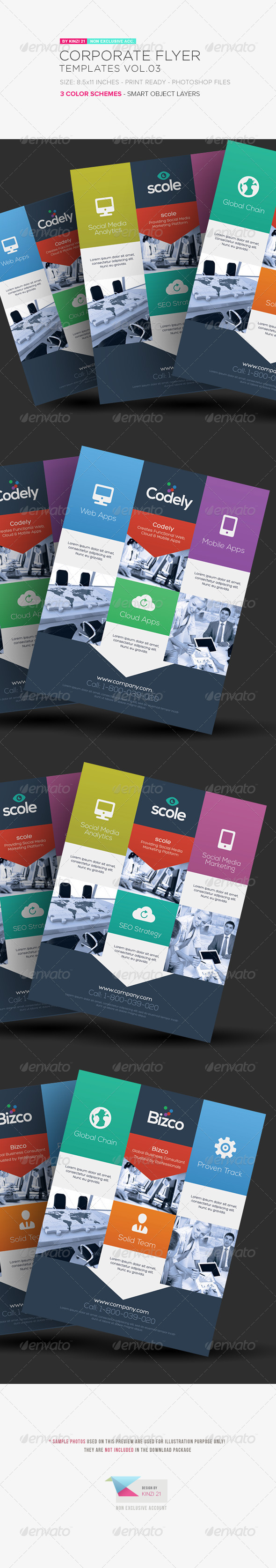 Corporate Flyer Templates Vol.03 - Corporate Flyers