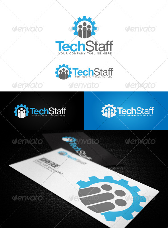 Tech Staff Logo - Logo Templates