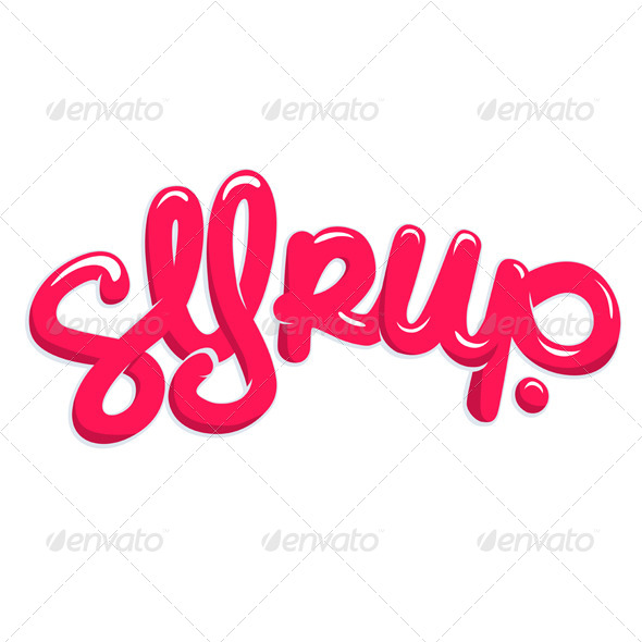 Candy Syrup Text - Decorative Symbols Decorative