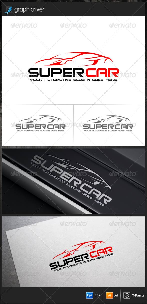 Super Car Logo Templates - Objects Logo Templates