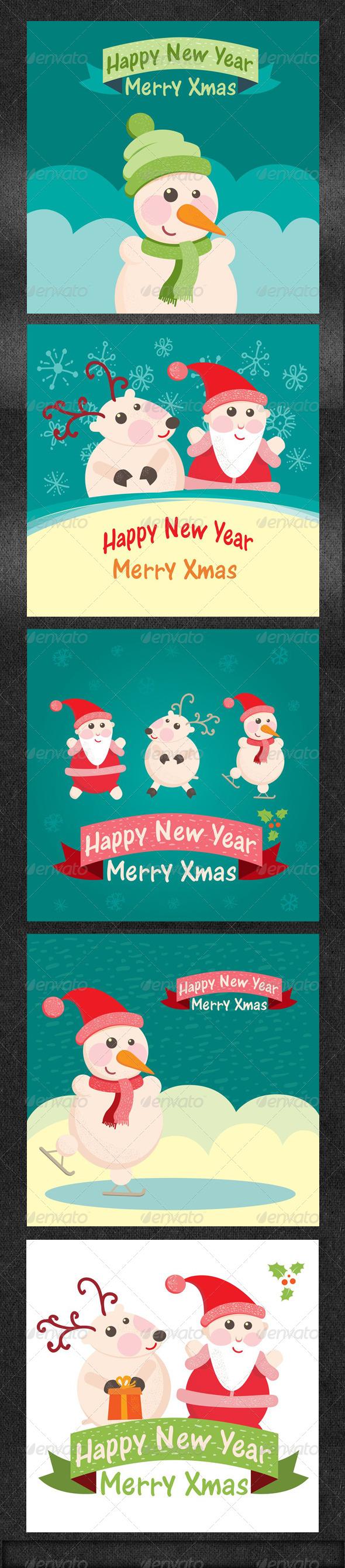 Christmas Greeting Card Part 1 - Christmas Seasons/Holidays