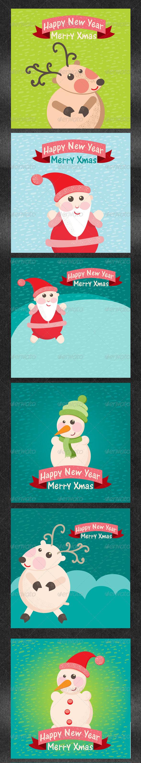 Christmas Greeting Card Part 2 - Christmas Seasons/Holidays