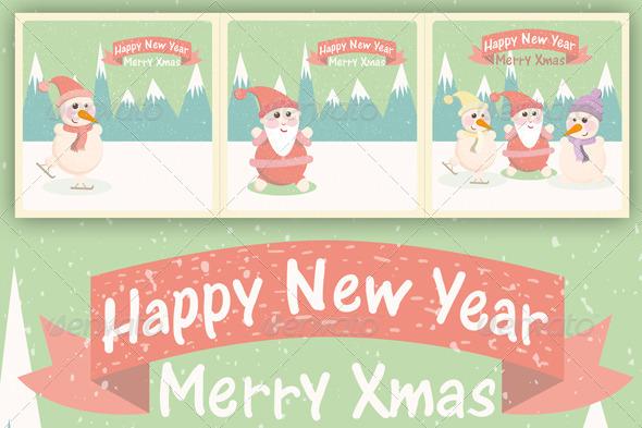 Vintage Christmas Greeting Card - Christmas Seasons/Holidays