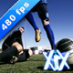 Soccer Players In Action - VideoHive Item for Sale
