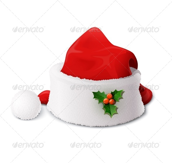 Santa Claus Hat - Christmas Seasons/Holidays