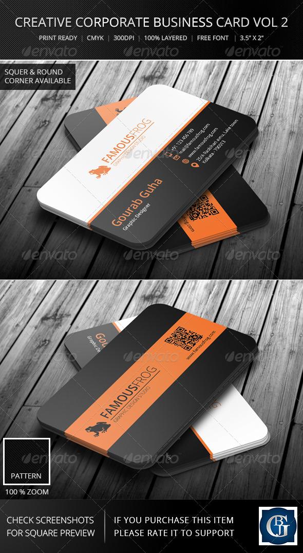 Creative Corporate Business Card Vol 3 - Corporate Business Cards