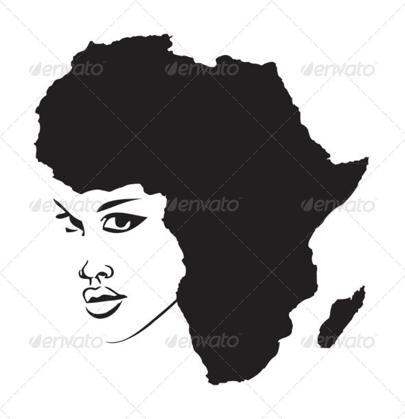 Face of Africa - People Characters