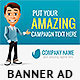 Business Cartoon Web Banner - GraphicRiver Item for Sale