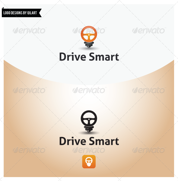 Smart Driving - Abstract Logo Templates