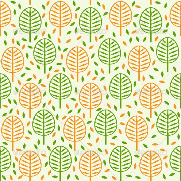Tree and Foliage - Patterns Decorative