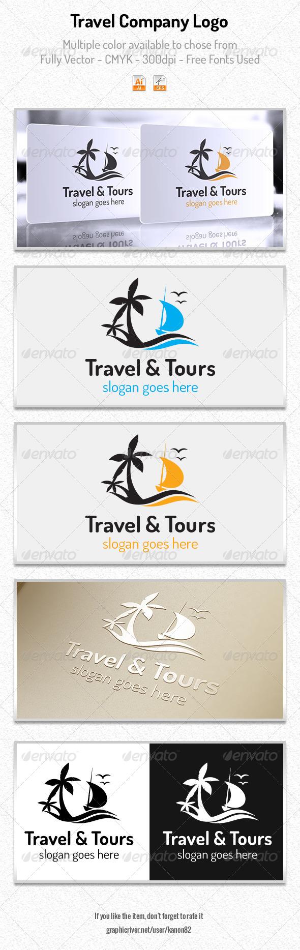 Travel Company Logo - Nature Logo Templates