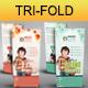 Creative / Education / Corporate Tri-Fold Brochure - GraphicRiver Item for Sale