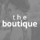 The Boutique One Page Muse Theme Nulled