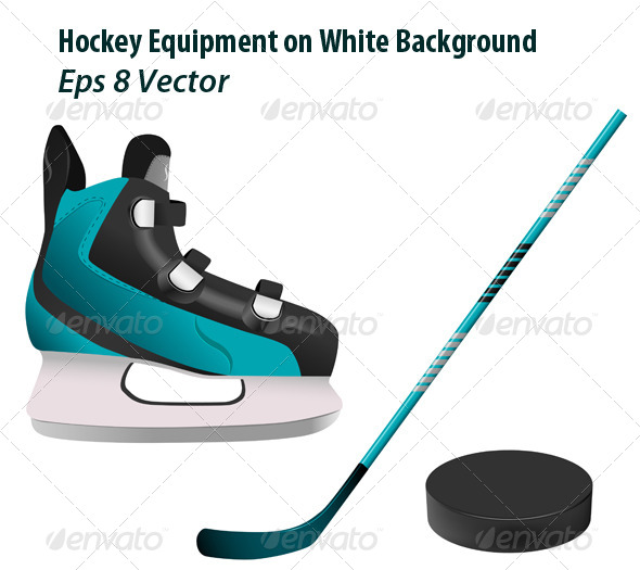 Hockey Equipment - Sports/Activity Conceptual