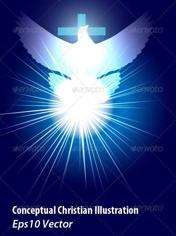 Holy Spirit - Religion Conceptual