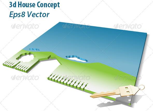 House Concept - Conceptual Vectors