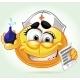 Smile Mad Nurse with Enema