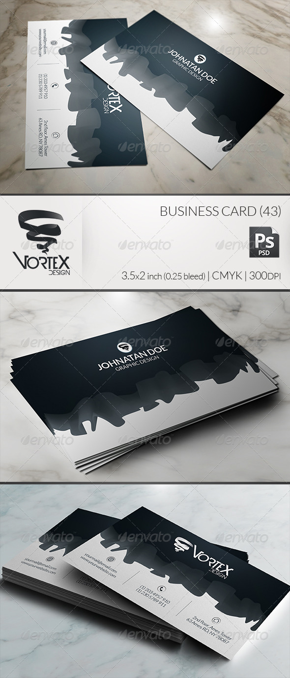 Business Card 43 - Creative Business Cards
