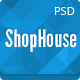 ShopHouse: Premium PSD Template - ThemeForest Item for Sale