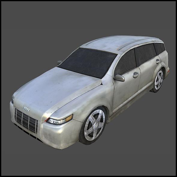 German SUV - 3DOcean Item for Sale