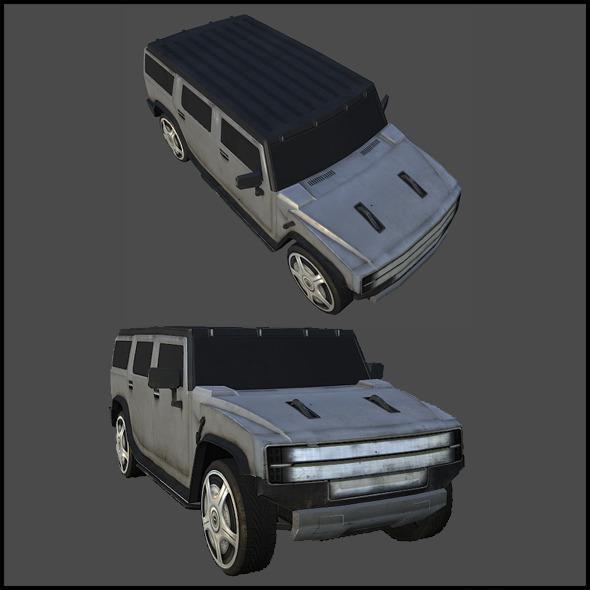 Generic SUV - 3DOcean Item for Sale