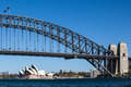 Sydney Harbour Bridge on a Clear Day - PhotoDune Item for Sale