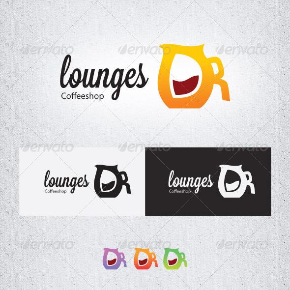 Lounge Coffeeshop - Objects Logo Templates