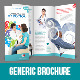 Generic Trifold Brochure - GraphicRiver Item for Sale