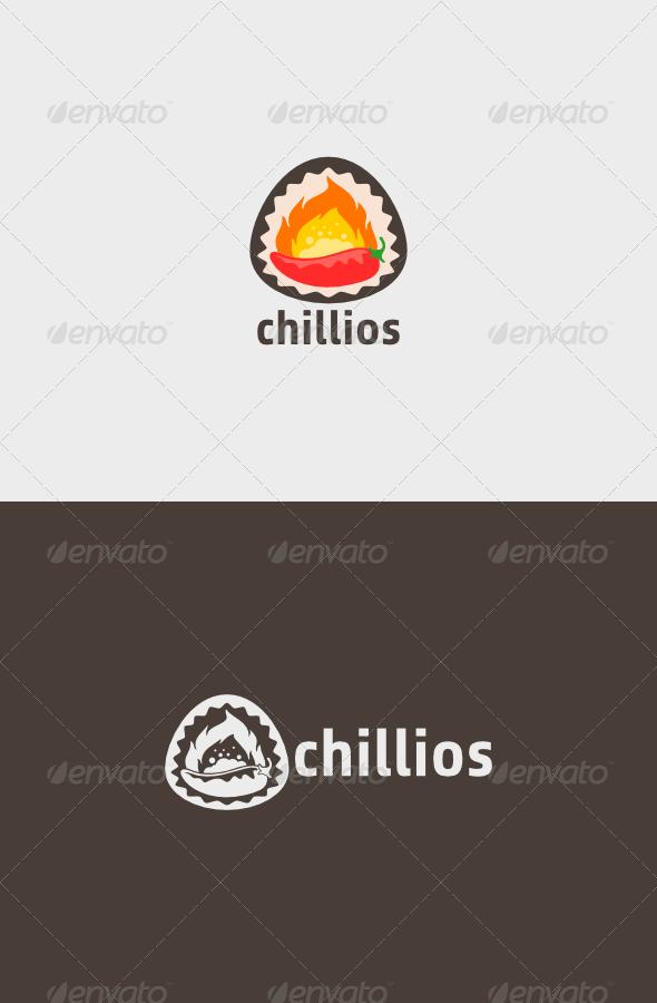 Chillios Logo  - Food Logo Templates