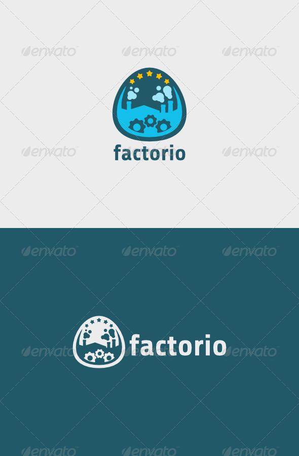 Factorio Logo  - Objects Logo Templates