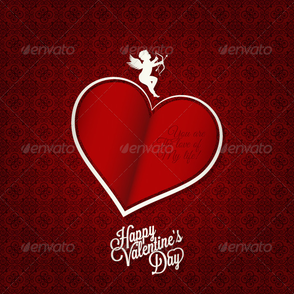 Valentines Day Card Background - Valentines Seasons/Holidays