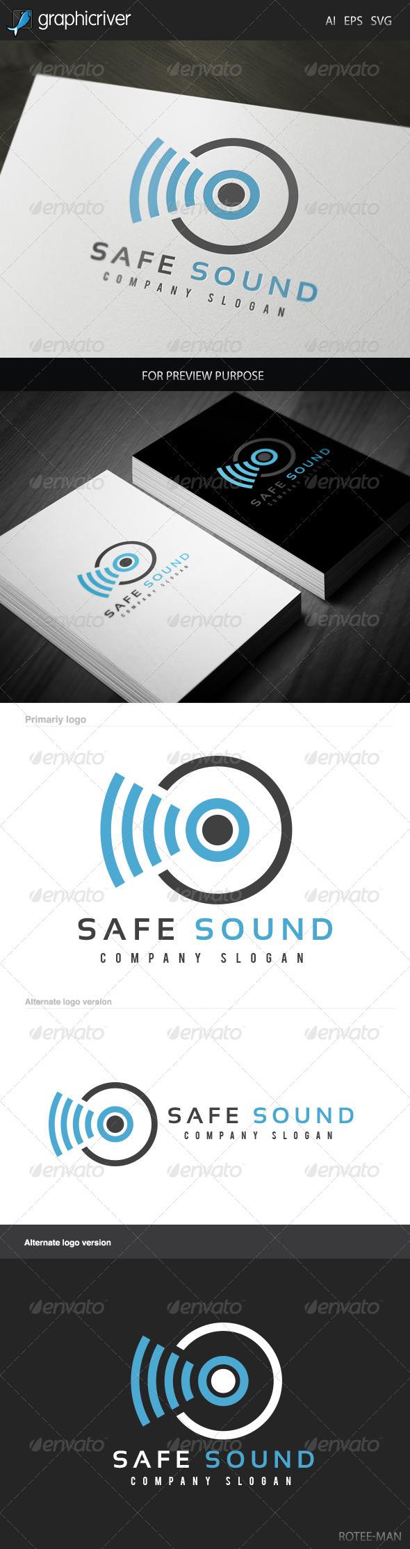 Safe Sound Logo - Symbols Logo Templates