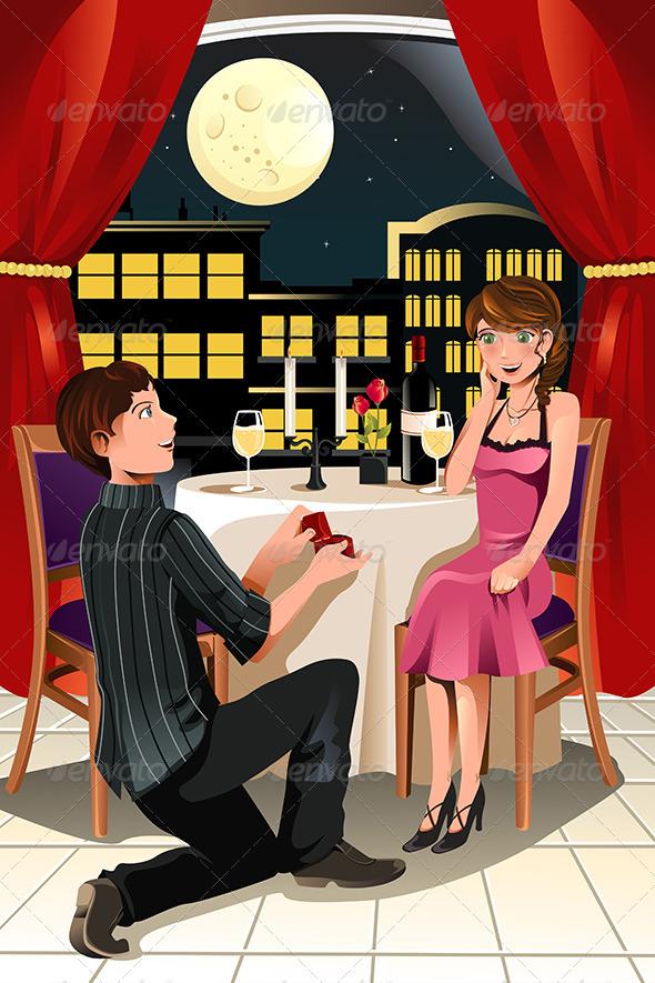 Marriage Proposal - Valentines Seasons/Holidays