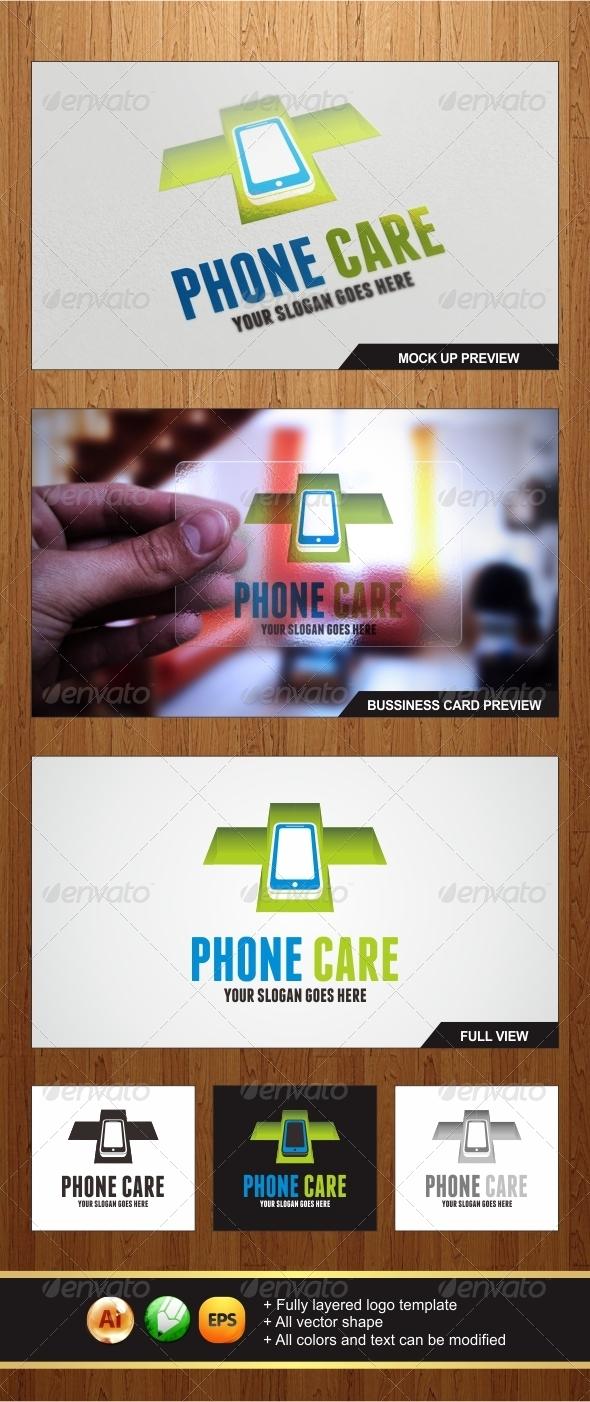 Phone Care Logo - Symbols Logo Templates