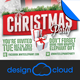 White Elephant Christmas Event Flyer - GraphicRiver Item for Sale