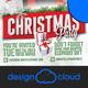 White Elephant Christmas Event Flyer - GraphicRiver Item for Sale