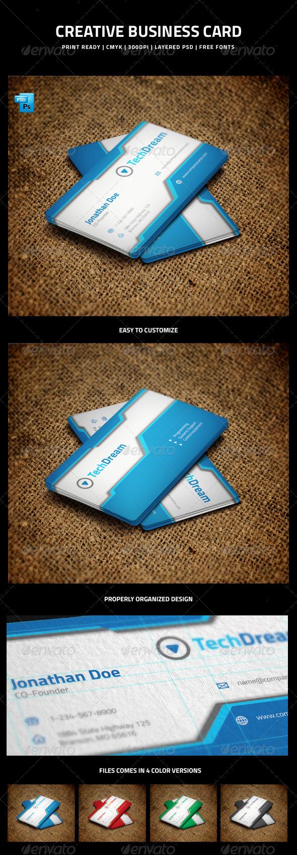 Creative Business Card - 4 - Creative Business Cards