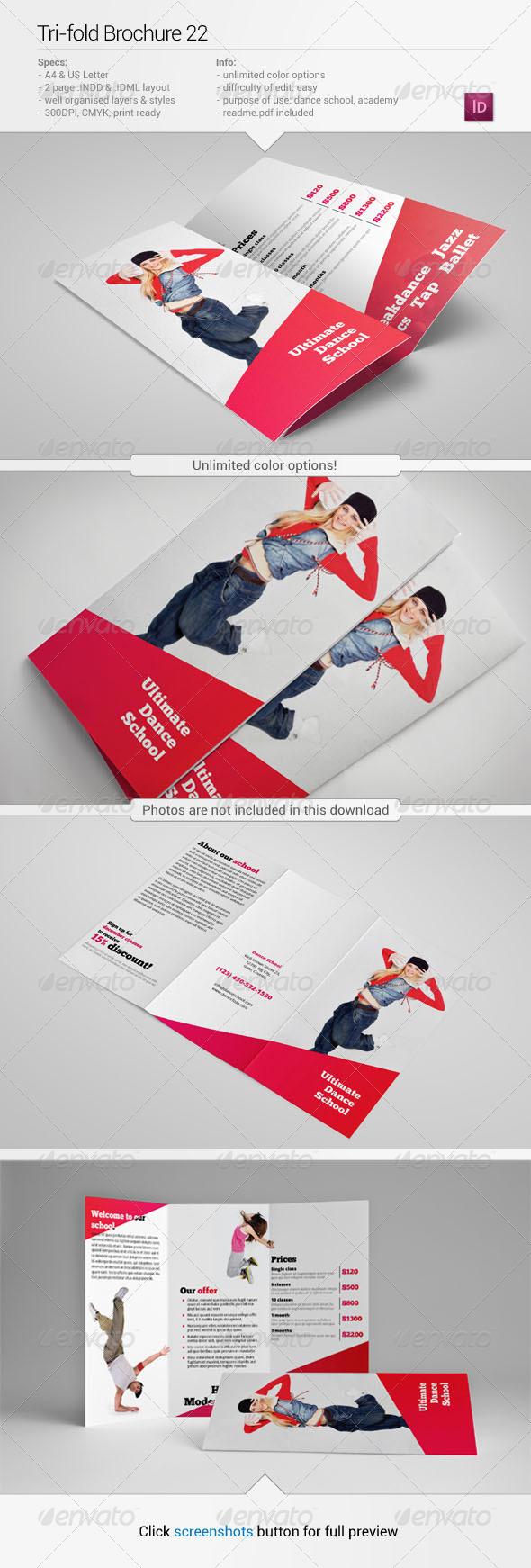 Tri-Fold Brochure 22 - Informational Brochures