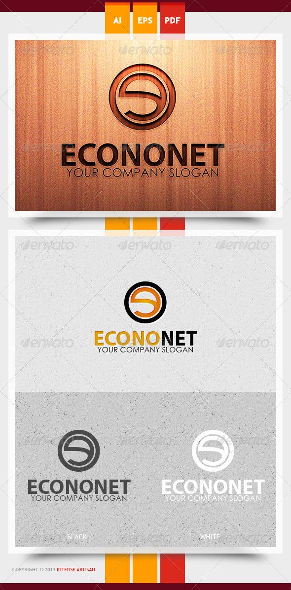 Econonet Logo Template - Letters Logo Templates